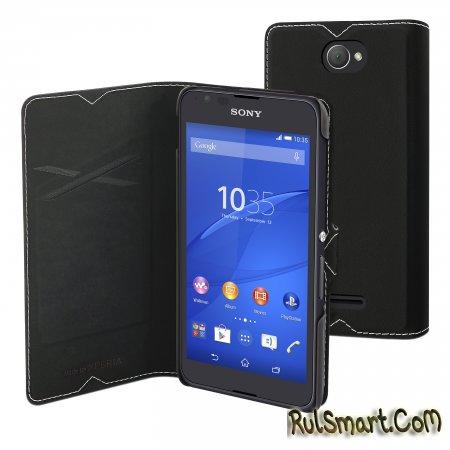 Sony Xperia E4: живые фото и цена