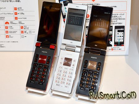 Sharp Aquos K: Android-раскладушка