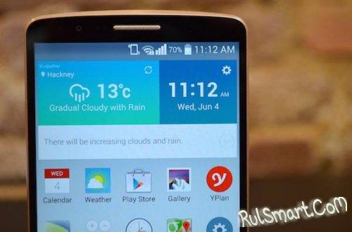LG G3 обновляется до Android 5.0 Lollipop в России