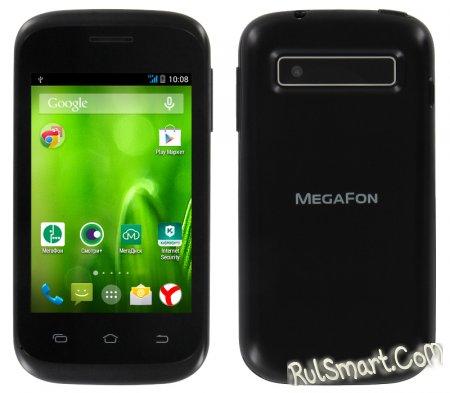 МегаФон Login 3: смартфон начального уровня