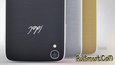 Alcatel OneTouch Idol 3 - смартфон с симметричным дизайном
