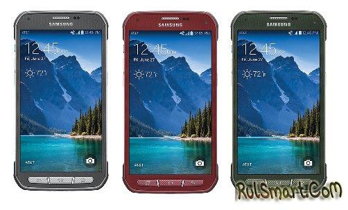 Samsung Galaxy S5 Active обновляется до Android 5.0