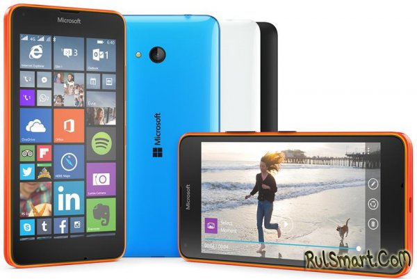 Microsoft Lumia 640 и Lumia 640 XL: смартфоны на WP 8.1