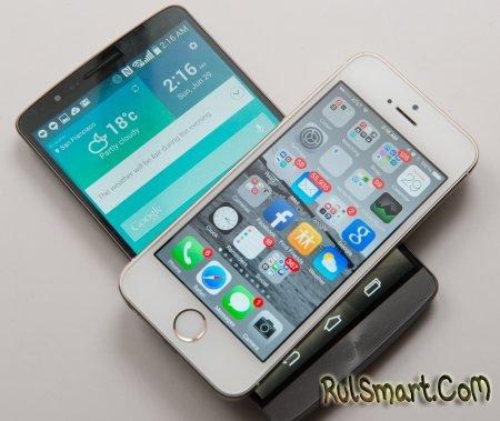 iPhone 6 и LG G3 - лучшие смартфоны 2014 года