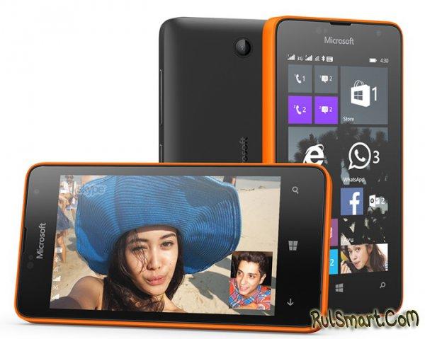 Microsoft Lumia 430 Dual SIM - недорогой смартфон за $70