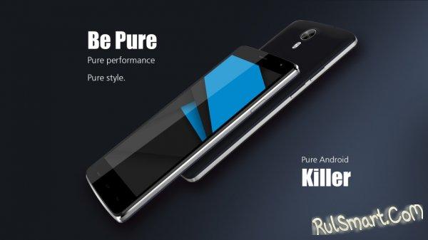 Ulefone Be Pure - бюджетный смартфон на MT6595M