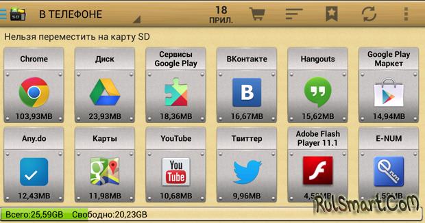 Как устанавливать приложения на карту памяти …