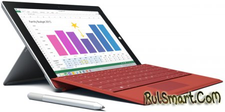 Microsoft Surface 3 - новый планшет на Windows 8.1