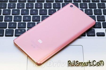 Xiaomi Mi Note Pink Edition: распаковка смартфона