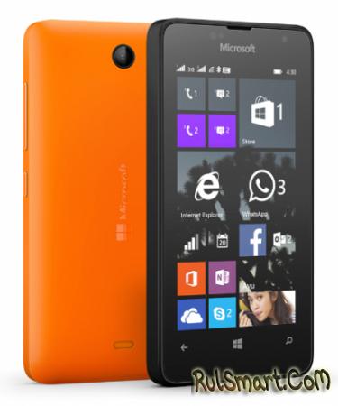 Microsoft Lumia 430 Dual SIM стал доступен в России