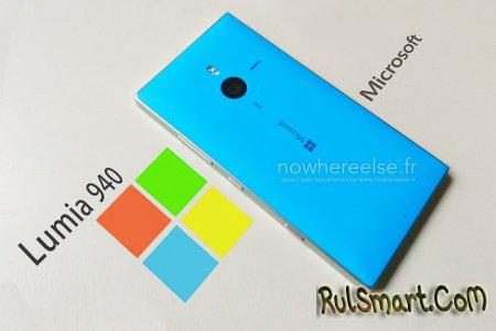 Microsoft Lumia 940 XL: флагман со сканером сетчатки