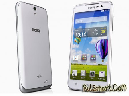 BenQ F5: бюджетный LTE-смартфон для российского рынка