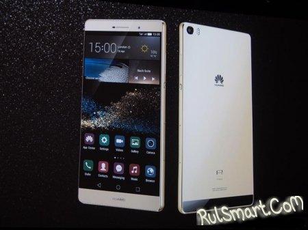 Распаковка фаблета Huawei P8 Max