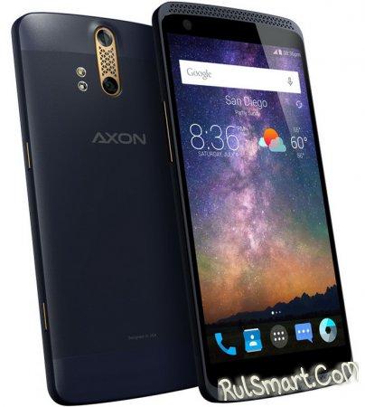 Axon - смартфон с двойной камерой и Hi-Fi-звуком от ZTE