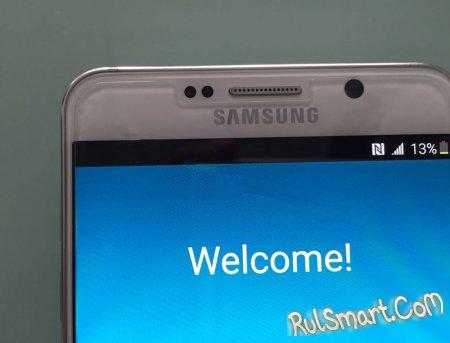 Samsung Galaxy S6 Edge+ и Galaxy Note 5: живые фото флагманов