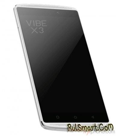 Lenovo Vibe X3: внешний вид и характеристики