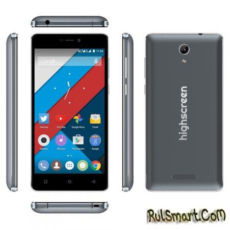 Highscreen Power Five: смартфон среднего класса с большим аккумулятором