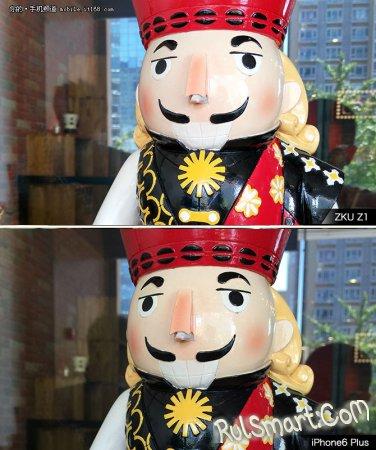 Сравнение камер ZUK Z1 и iPhone 6