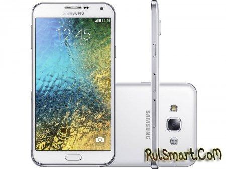 Samsung Galaxy E7 не получит Android 5.0 Lollipop