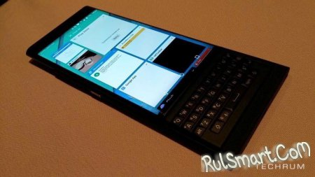 BlackBerry Venice: первый смартфон компании на Android
