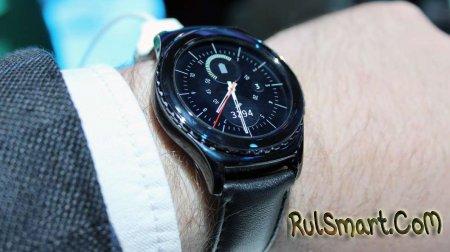 Samsung Galaxy Gear S2: первые реальные фото