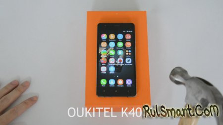 OUKITEL K4000: долгожитель с Gorilla Glass 3