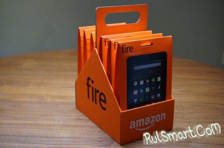 Amazon выпустила 4 новых планшета линейки Fire