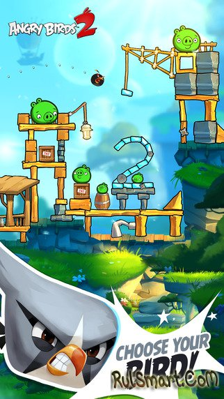 Angry Birds Rio Перья