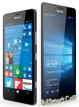 Microsoft Lumia 950 и 950XL: флагманы на Windows 10 Mobile