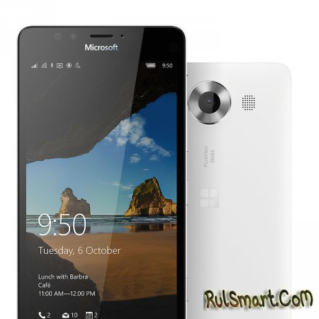 Microsoft Lumia 950 и 950XL: флагманы на Windows 10 Mobile