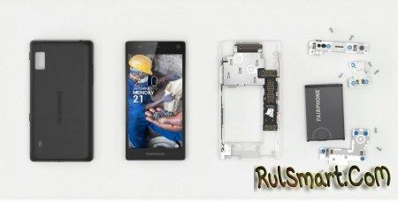 Модульный смартфон Fairphone 2 выйдет в декабре