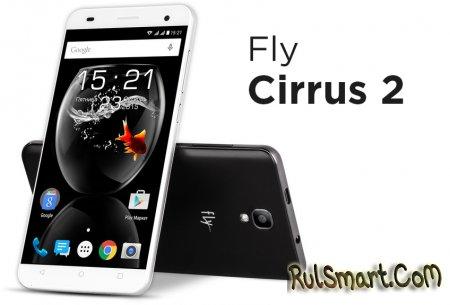 Fly Cirrus 2: доступный смартфон с Mediatek MT6580