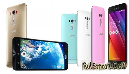 Какие смартфоны ASUS обновятся до Android 6.0?