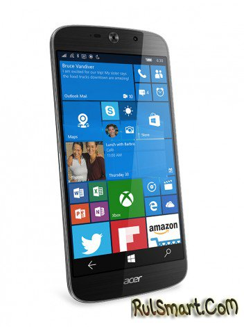 Acer Liquid Jade Primo – флагманский смартфон на Windows 10