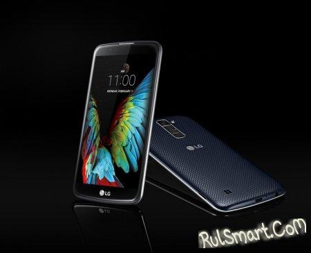 LG K7 и K10: стильные смартфоны с продвинутой камерой - CES 2016