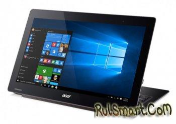 Acer Aspire Switch 12 S — гибридный планшет с 4K-дисплеем и USB Type-C