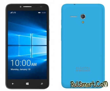 Alcatel OneTouch Fierce XL — бюджетник на Windows 10 Mobile