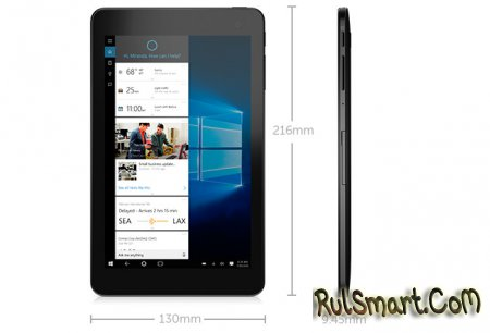 Dell Venue 8 Pro — компактный флагманский планшет