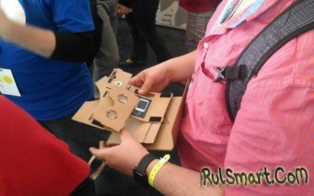 Как собрать Google Cardboard своими руками