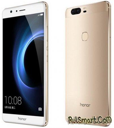 Huawei Honor V8 — флагман с двойной камерой и QHD-экраном