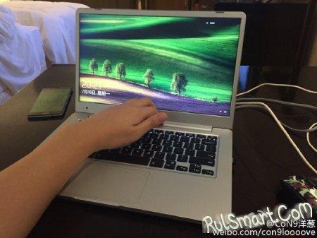 Xiaomi Mi Notebook: первые живые фото