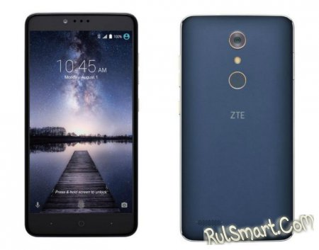 "ZTE Zmax Pro: 6"" дисплей и сканер отпечатков за $99"