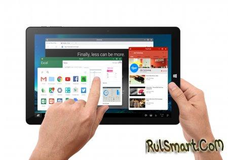 Chuwi Vi10 Plus — новый 10-дюймовый планшет на Windows 10 и RemixOS