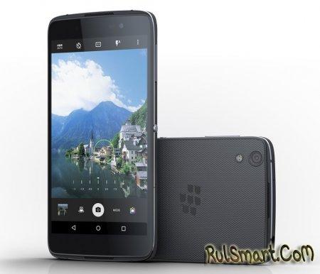 BlackBerry DTEK 50 — новый смартфон на Android 6.0