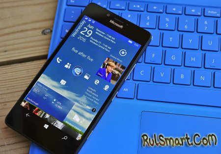Windows 10 Mobile �������� Anniversary Update