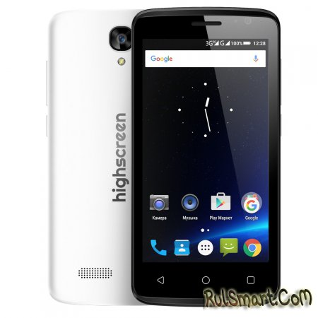 Highscreen Easy F Pro � ������� ��������� �������� �� Android 5.1