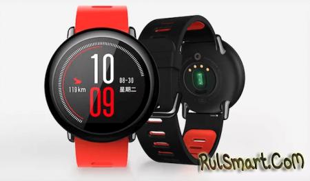Huami Amazfit Smartwatch — первые умные часы Xiaomi