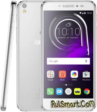 Alcatel Shine Lite — бюджетный смартфон со стильным дизайном
