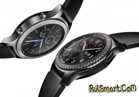 Samsung Gear S3 — первые умные часы со стеклом Gorilla Glass SR+