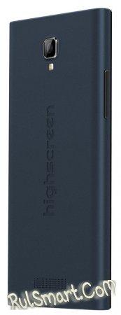 Highscreen Boost 3SE — музыкальный смартфон с высокой автономностью